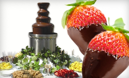 Chocolate-Fountain Rentals for Up to 100 or 200 People from Santa Barbara Chocolate Fountains (Up to 59% Off)