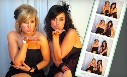 $699 for a Four-Hour Photo-Booth Rental with Double Prints from Mint Photolounge ($1,500 Value)