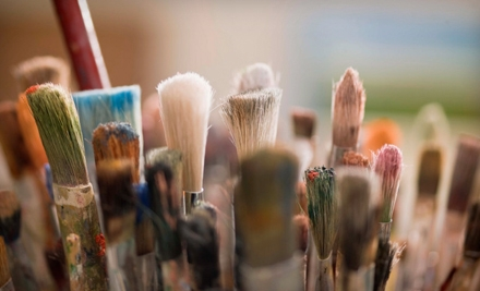 One Expressive-Painting Class on Canvas or Mixed Media for One or Two People at Art of the Soul (Up to 57% Off)