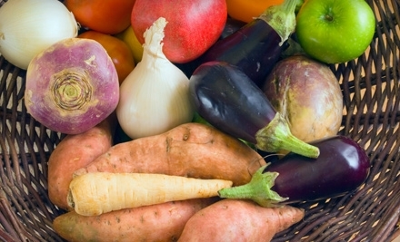 Organic Produce and Artisan Groceries for Pick-up or Delivery from Full Circle (Up to 54% Off). Three Options Available.