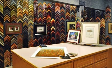 Custom Framing at Studio Seven Arts in Pleasanton (Up to 67% Off). Two Options Available.