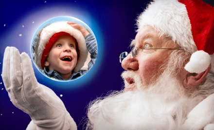 $17 for a Santa Photo Package and Drive-Through-Display Admission at Santa's Magical Kingdom in Eureka ($34 Value)