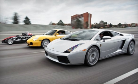 One-Day, 100-Mile Exotic Car Rental or Dream Drive Experience Package at Lone Star Exotic Rentals (Half Off)
