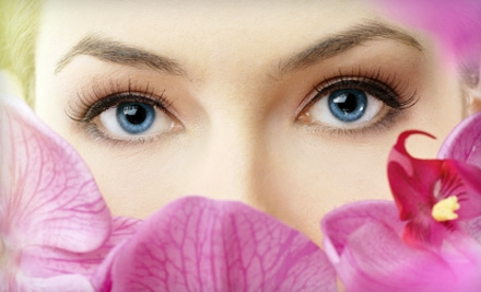 Shellac Manicure and Spa Pedicure or Eyelash Extensions at Love Your Hair Salon in Keego Harbor (Up to 67% Off)