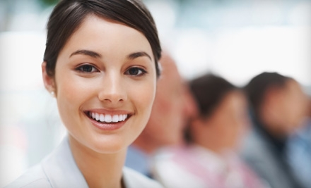 $119 for Zoom! In-Office Teeth Whitening Plus X-Rays at Pure Dental ($459 Value)