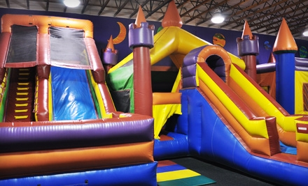 Four Inflatable-Playground Visits for a Child Up to 3 Years Old or a Child Aged 3–15 at JJ Jump and JJ Extreme (Up to Half Off)