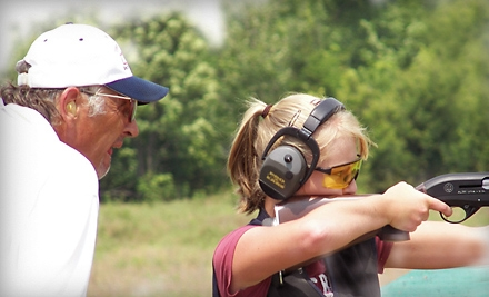 Skeet-Shooting Lesson for One or Two from the Terry Hetrick Shooting School (Up to 65% Off)