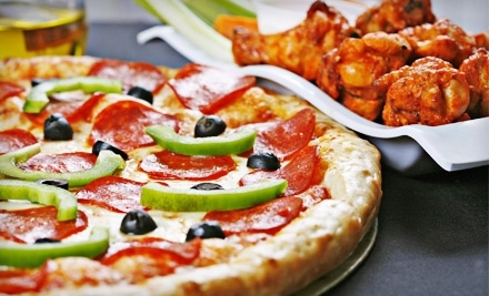 American Fare at Buffalo Brothers Pizza & Wing Company (Up to 54% Off). Two Options Available.