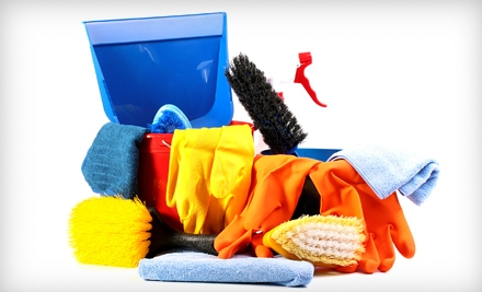 One, Two, Three, or Four Three-Hour Organic Home-Cleaning Sessions from A Green Kleaners (Up to 73% Off)