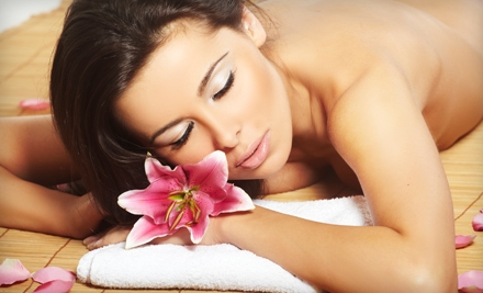 Spa Package with Massage and Facial or Haircut Package with Deep Conditioning at Salon Couture of Southington (Up to 51% Off)