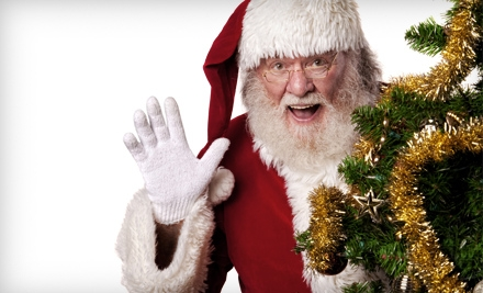 Pictures with Santa and Print Packages from Southlands Ventures Inc. in Aurora (Up to 58% Off). Two Options Available.