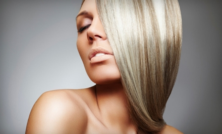 Cut and Style, Cut and Color, or Cut, Color, and Wax (Up to 53% Off) at Anu-U Salon & Spa in Williston (Up to 53% Off)