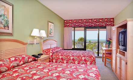 One-Night Stay at Springmaid Beach Resort in Myrtle Beach (Up to Half Off). Three Options Available.