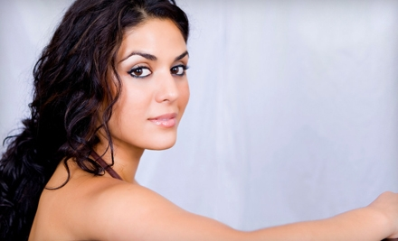 $45 for a Hairstyling Package with Cut, Style, Partial Highlights, and Moroccan Oil at Today's Salon & Spa ($90 Value)