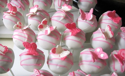 One Dozen Cake Pops or One Petit Four Bar from Angel's Bakery (Half Off)