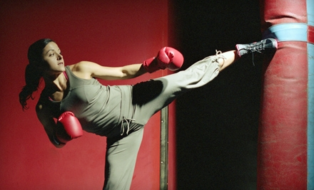10 Kickboxing Classes or One Month of Unlimited Kickboxing Classes at Champion Sport Karate in Papillion (51% Off)