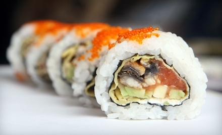 Japanese Fare Sunday–Thursday or Friday–Saturday at Red Bar Sushi (Half Off)