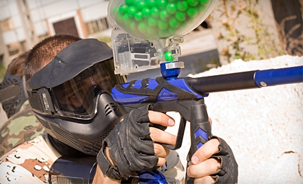 Paintball Package with Admission, Equipment Rental, and Paintballs for One or Two at Tempe Paintball (Up to 58% Off)