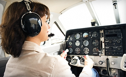 $4,799 for 50-Hour Private-Pilot's-License Training at A.T.C. Flight Training Center ($6,900 Value)