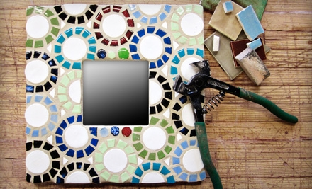 Beginners' or Advanced Mosaic Class at Mercury Mosaics (Up to 56% Off)