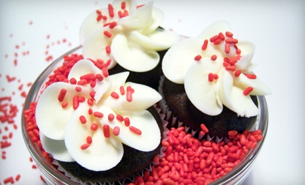 $15 for Two Dozen Mini Cupcakes at Sugar Rush Baking Company ($30 Value)