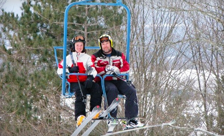 $18 for a Full-Day Adult Lift Ticket at Snow Ridge Ski Resort in Turin