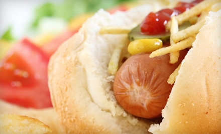 Hot Dogs, Sides, and Drinks for Two or Four at Zogg's Doggs in Caledonia (Up to 54% Off)