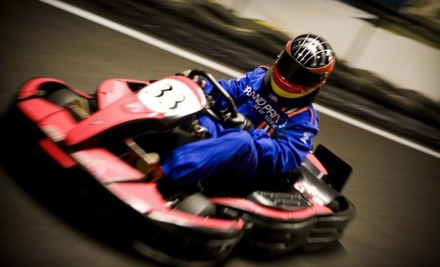 Go-Kart-Outing Package for One or Two Kids or Adults or Eight-Person Party Package at Grand Prix New York in Mount Kisco (Up to 63% Off)