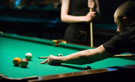 Billiards, Snacks, and Pro-Shop Credit at Drexeline Billiard Club in Drexel Hill (Up to 55% Off). Two Options Available.