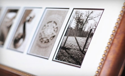 $65 for Personalized Alphabet Photography from Sticks and Stones ($139.99 Value)