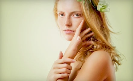 Spa Packages at Shimmer Salon and Day Spa in East Greenwich (Up to 54% Off). Three Options Available.