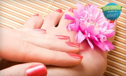 Full Set of Acrylic Enhancements or a VIP Mani-Pedi at The Nail Spa at Green Hills