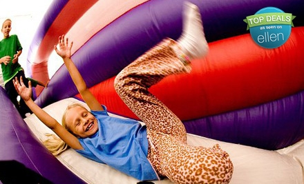 $18 for a Four-Session Bounce Pass to BounceU (Up to $43 Value)