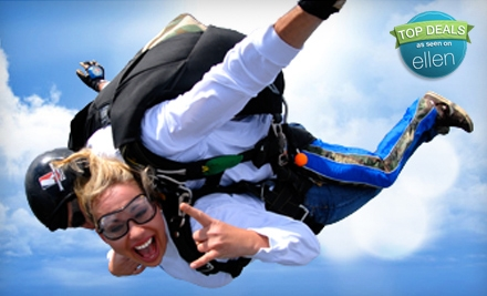 $159 for a Tandem Skydiving Session from Sportations (Up to $239 Value)