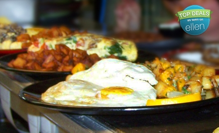 $8 for $20 Worth of Eclectic Brunch and Lunch Fare on Weekdays (or $16 Worth on Weekends) at Square Café