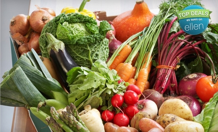 $15 for $31.50 Worth of Organic Produce Delivered from Farm Fresh To You