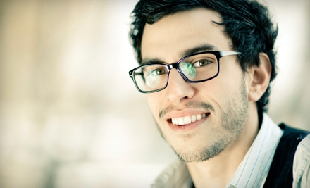 Eye-Exam Package with Frame-and-Lens Credit or $49 for $129 Toward Frames and Lenses at McNeel Eye Center