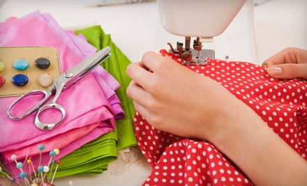 $25 for a Two-Hour Private Sewing Workshop at Fabric Shapers in Thiensville ($50 Value)