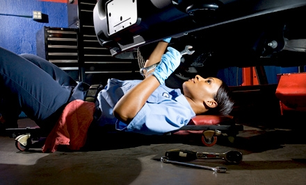 $20 for an Oil Change and a 45-Point Inspection at Car Care Center ($48 Value)