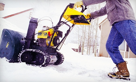 One or Three Driveway Snow-Removal Services by Curb Appeal Design (Up to 63% Off)