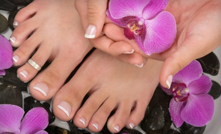 Spa or Gel Mani-Pedi at Academy of Nail Technology (Up to 52% Off)