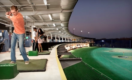 $18 for Playing Card with Golf-Range Games and Club Rental at TopGolf in Allen or Dallas ($35 Value)