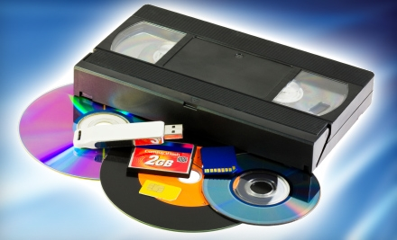 $20 for Two Videotapes Transferred to Two DVDs from The Video Editor ($40 Value)
