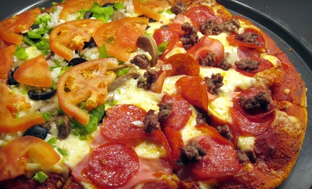 Pizza and Soft Drinks for Two or Four at Gold Coast Pizza in Ashland (Up to 59% Off)