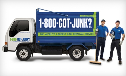 $79 for $189 Worth of Junk Removal from 1-800-Got-Junk?