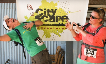 $45 for Entry for Two into a CityScape Adventure Race ($108 Value)