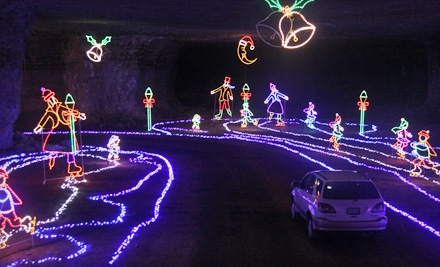 $15 for an Admission to Lights Under Louisville at Louisville Mega Cavern ($25 Value)