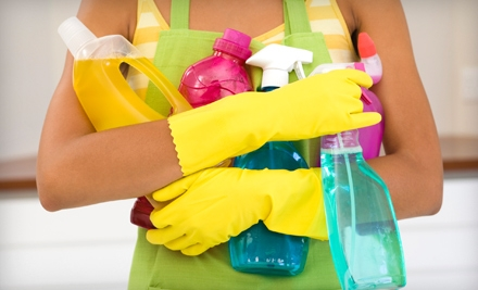 1, 3, 6, or 12 Two-Hour Housecleaning Sessions from Busy Bee Cleaning Inc (Up to 74% Off)
