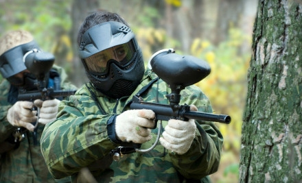 Paintball Excursion with Gear Rental and Ammo for Two, Four, or Eight at Paintball Club of Choctaw (Up to 55% Off)