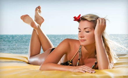 Two or Four Personalized Airbrush-Tanning Sessions at Ambiance Tan in Vancouver (Up to 54% Off)